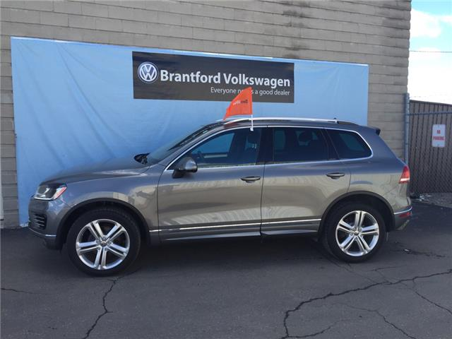 2016 Volkswagen Touareg 3.6L Execline (Stk: VC2493) in Brantford - Image 1 of 10