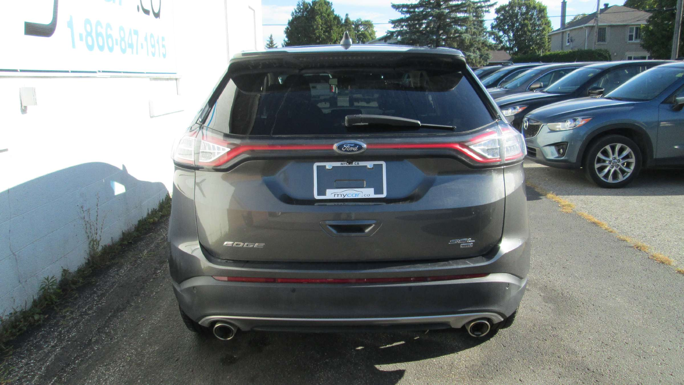 2017 Ford Edge SEL (Stk: 171341) in North Bay - Image 4 of 11