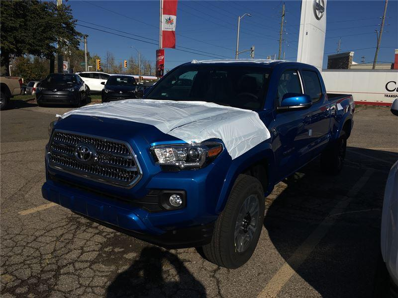 2017 Toyota Tacoma SR5 V6 (Stk: 7TA1155) in Georgetown - Image 1 of 5