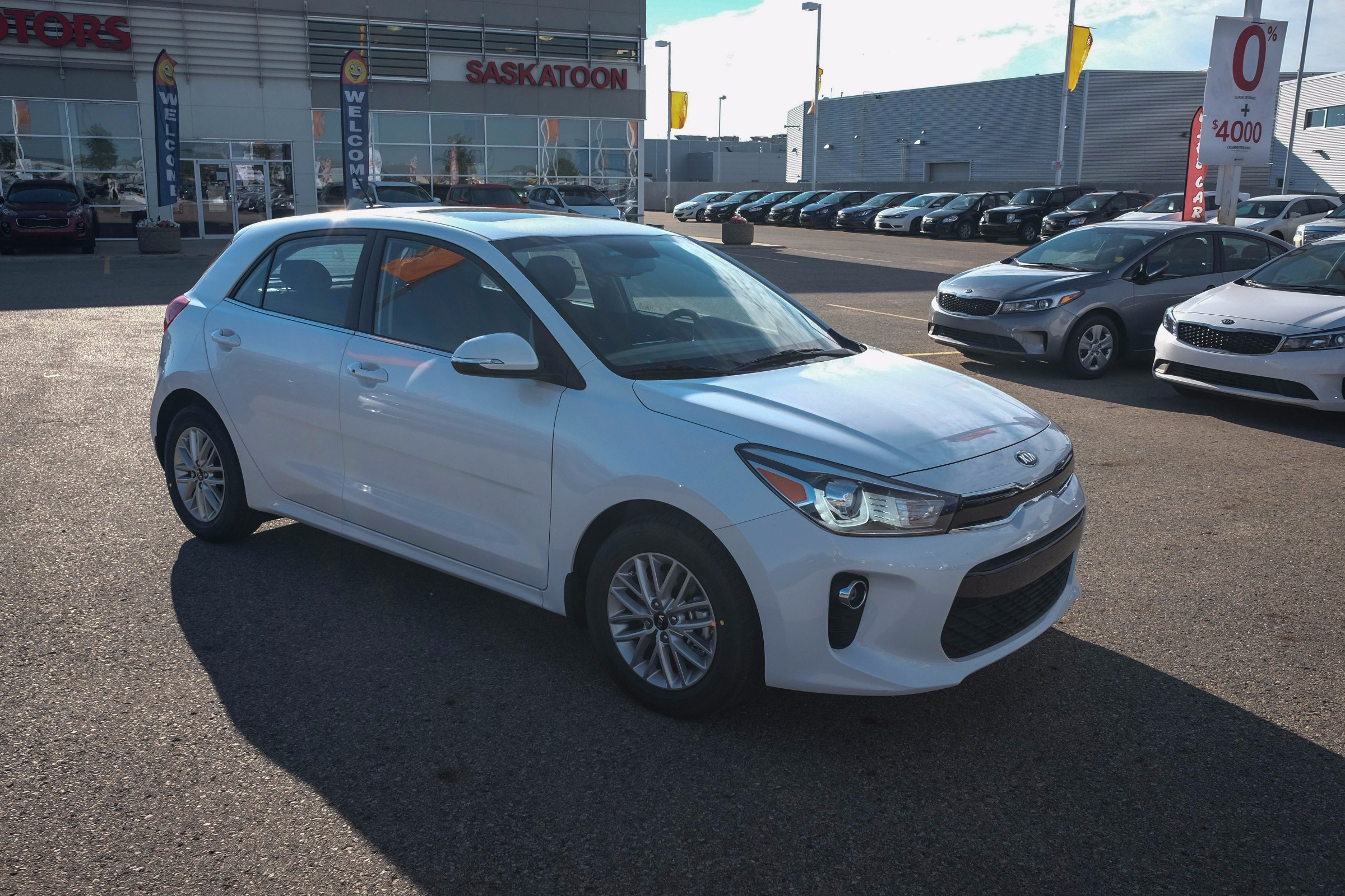 Used Cars Saskatchewan: 2017 Kia Rio5 For Sale In Saskatoon, SK
