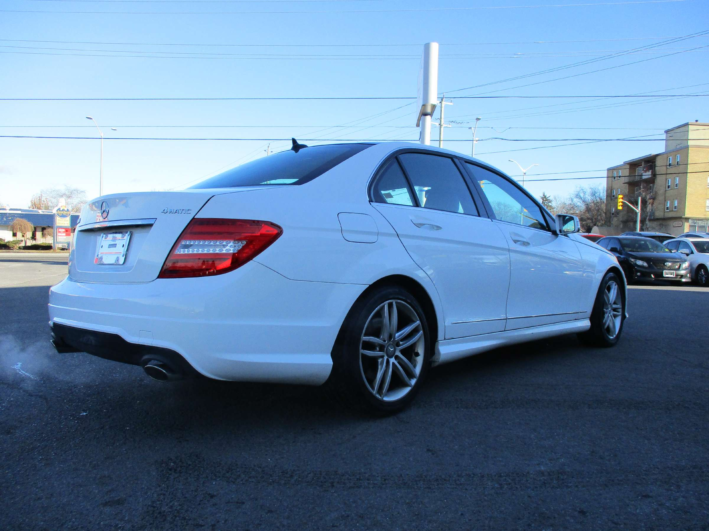 2014 Mercedes-Benz C-Class Base (Stk: 171865) in Kingston - Image 3 of 12