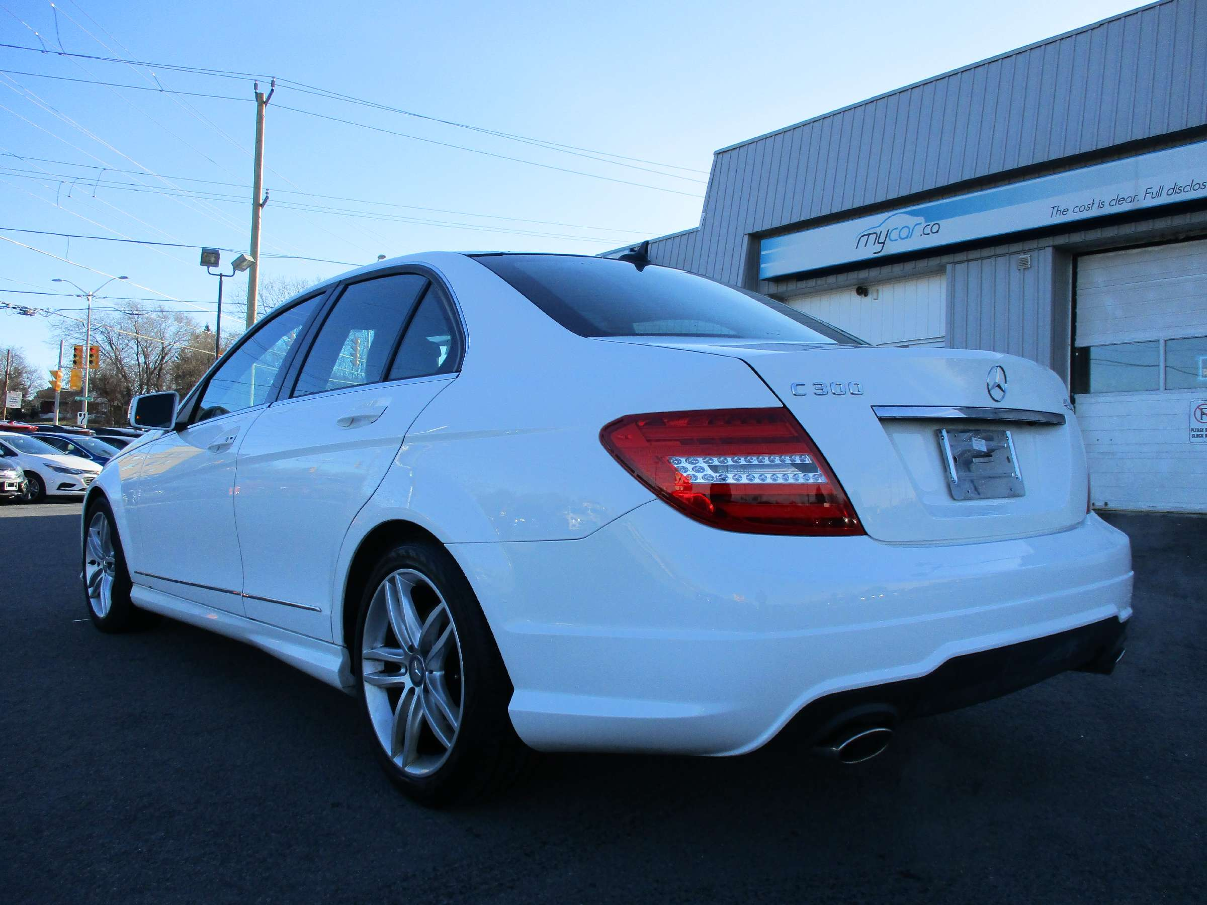 2014 Mercedes-Benz C-Class Base (Stk: 171865) in Kingston - Image 5 of 12