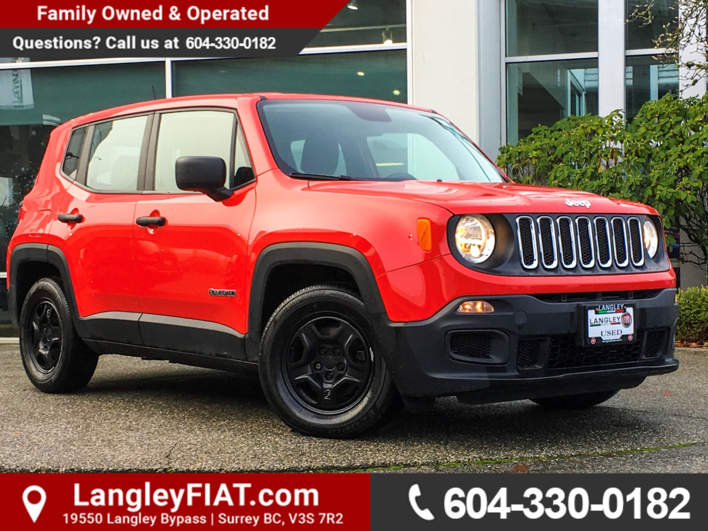 Used Jeep Renegade For Sale Vancouver BC CarGurus