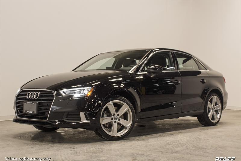 2018 Audi A3 2.0T Komfort (Stk: T13941) in Vaughan - Image 1 of 7