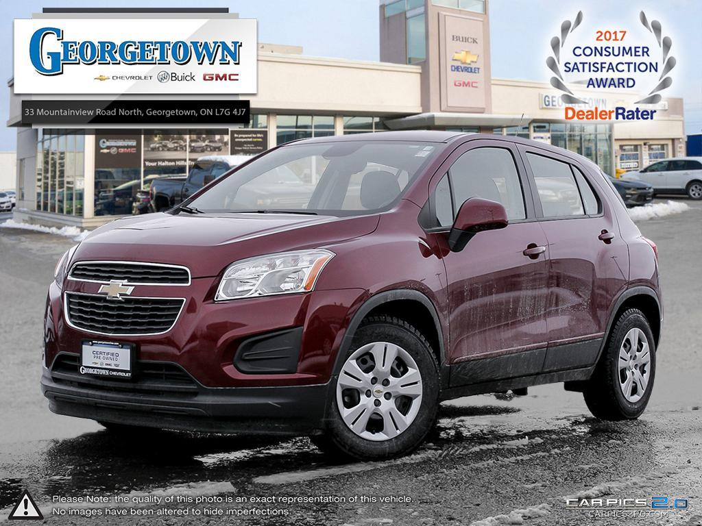 2015 Chevrolet Trax LS (Stk: 16734) in Georgetown - Image 1 of 28