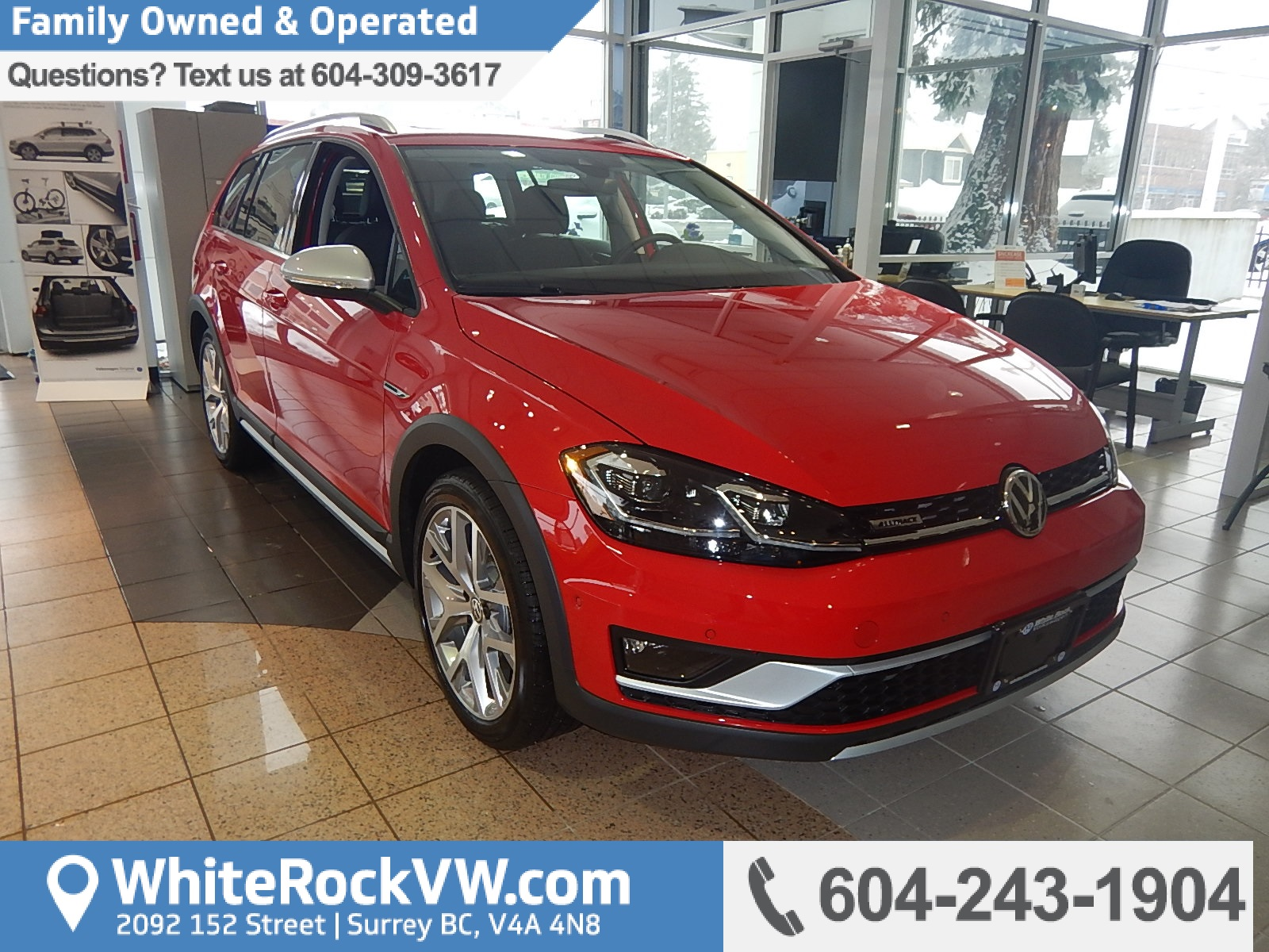 2018 Volkswagen Golf Alltrack 1.8 TSI (Stk: JG760580) in Surrey - Image 1 of 21