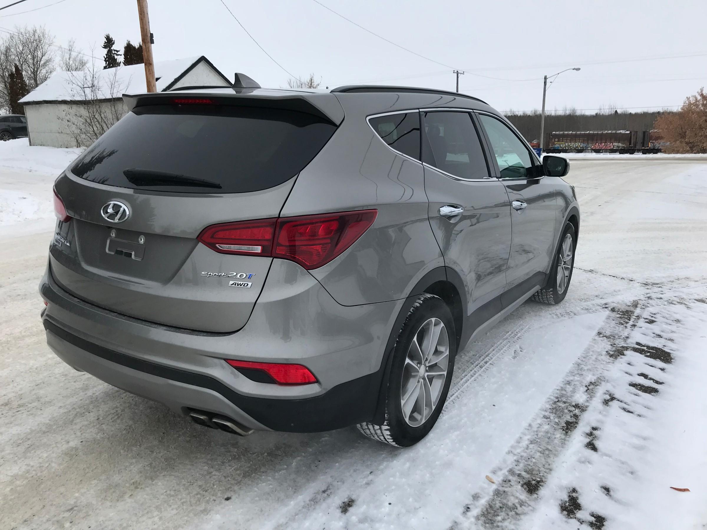 2017 Hyundai Santa Fe Sport 20t Se Stk U18 80 In Awd System
