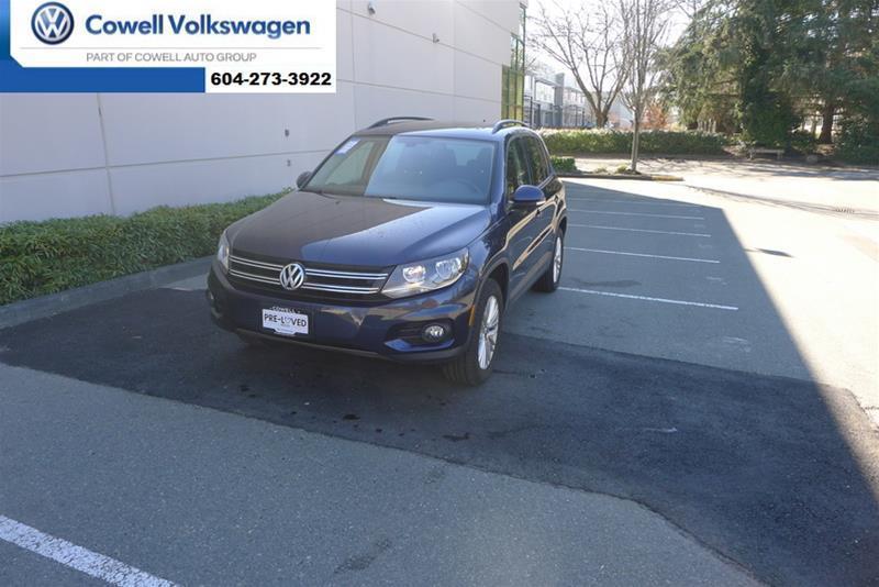 Pre-Owned 2015 Volkswagen Tiguan Special Edition