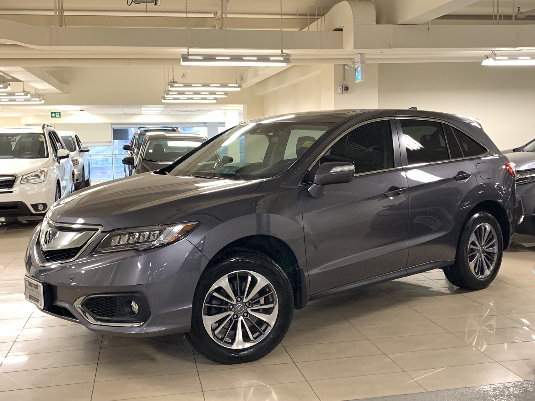 Acura Used Cars >> 2017 Acura Rdx Awd With Elite Package