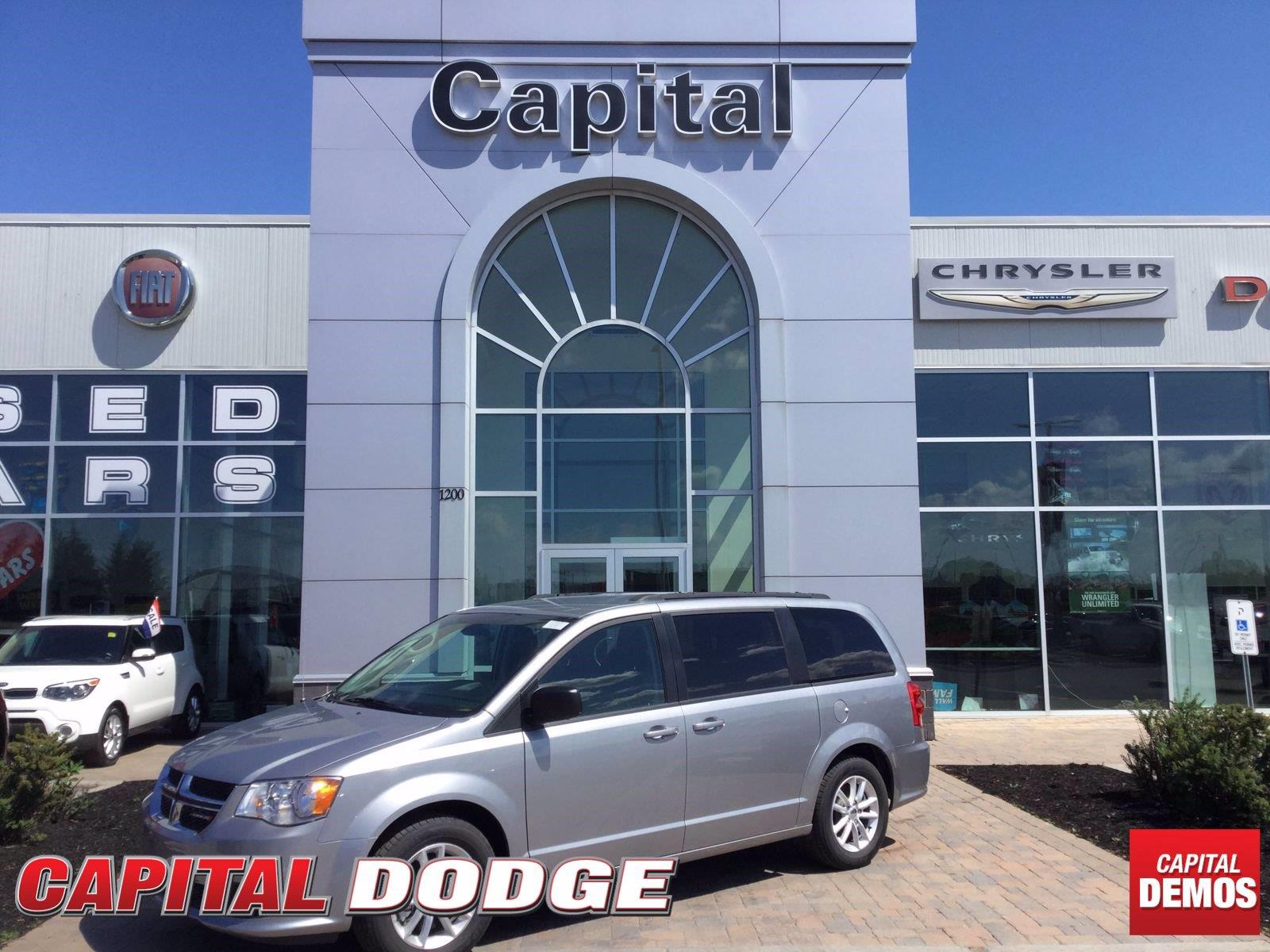 2018 Dodge Grand Caravan CVP/SXT - 10,792km