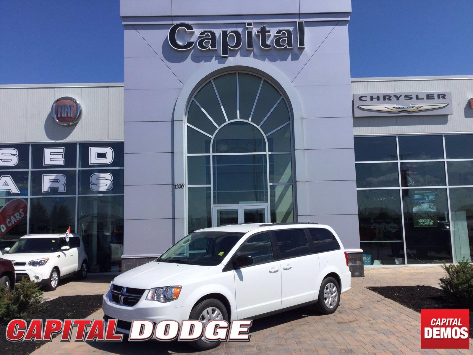 2018 Dodge Grand Caravan CVP/SXT - 3,233km