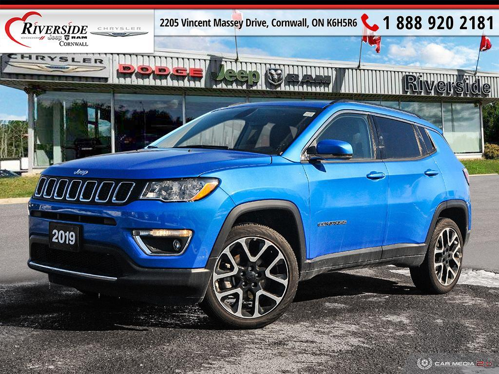 2019 Jeep Compass Limited - 31,890km