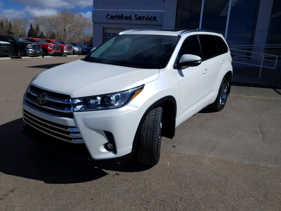 2019 Toyota Highlander Limited - 64,110km