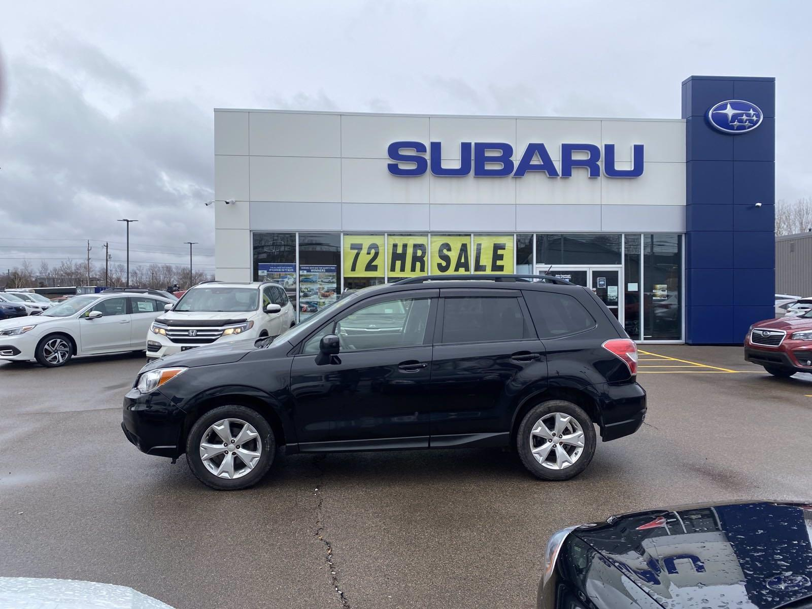 2015 Subaru Forester 2.5i Convenience Package - 127,593km