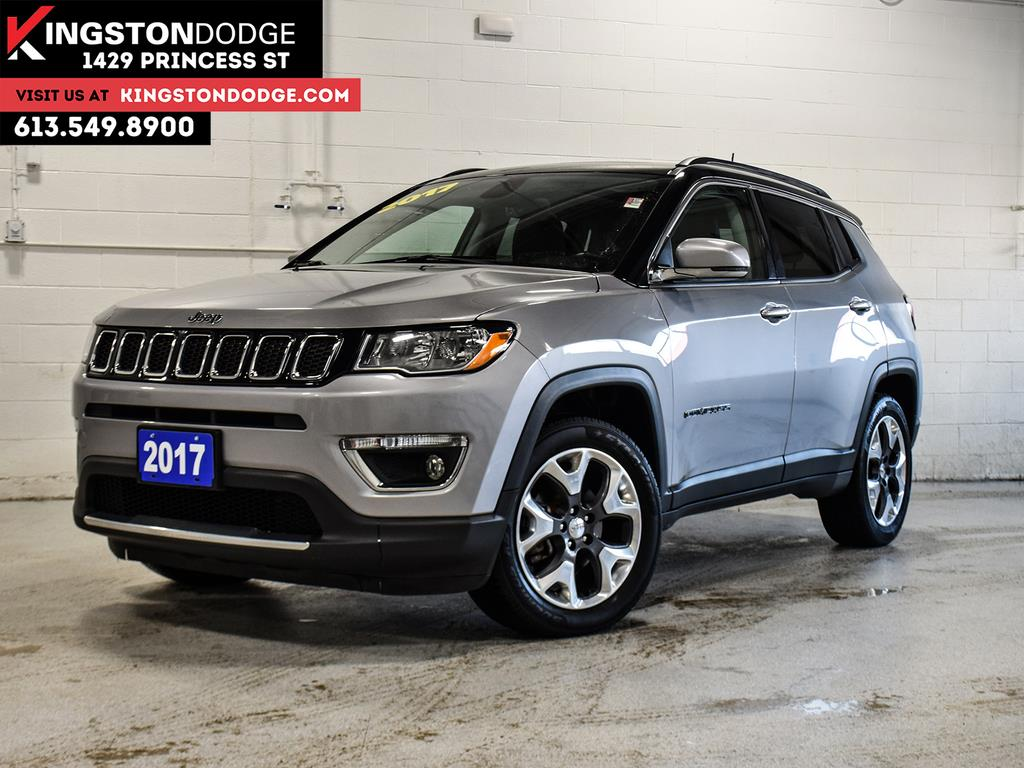 2017 Jeep Compass Limited - 63,010km