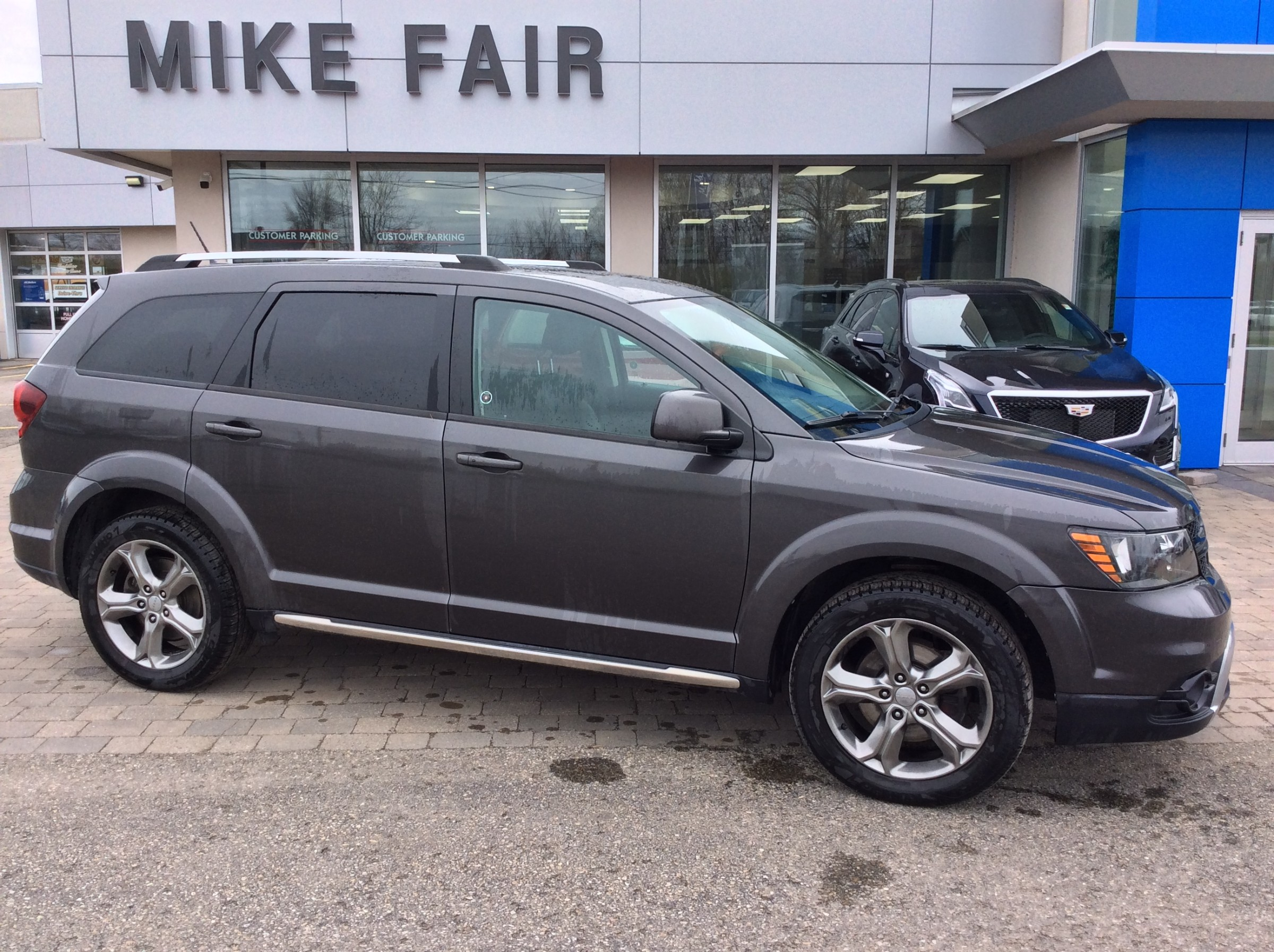 2016 Dodge Journey Crossroad - 77,117km