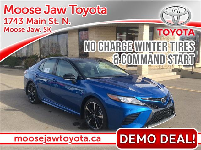 2018 Toyota Camry XSE (Stk: 188011) in Moose Jaw - Image 1 of 6