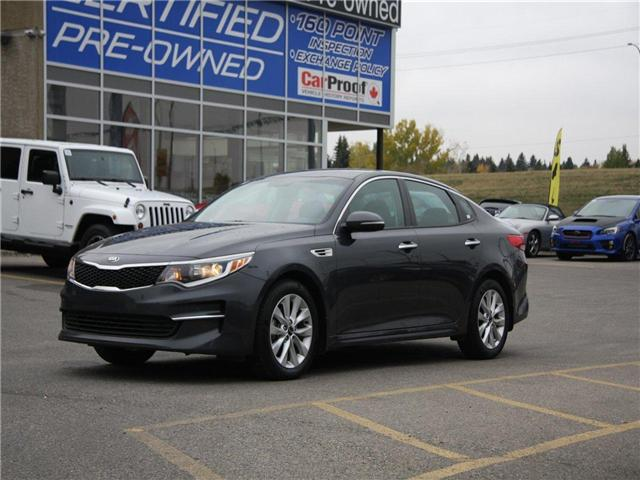 2018 Kia Optima LX+ (Stk: K7677) in Calgary - Image 1 of 21