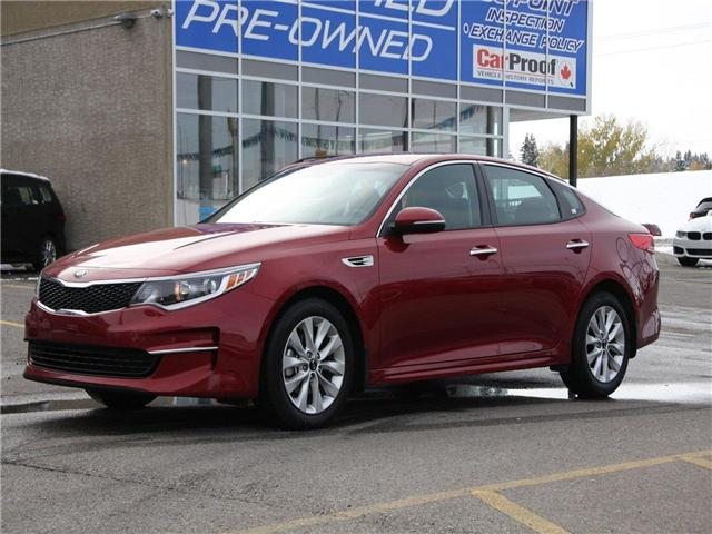 2018 Kia Optima LX+ (Stk: K7681) in Calgary - Image 1 of 22