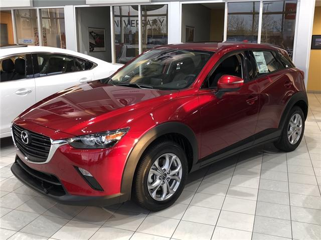 2019 Mazda CX-3 GS (Stk: N3794) in Calgary - Image 1 of 4