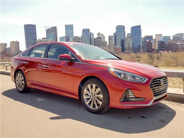 2018 Hyundai Sonata GLS (Stk: N2895) in Calgary - Image 1 of 28