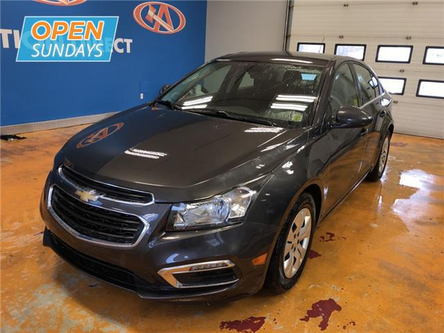 2015 Chevrolet Cruze 1LT (Stk: 15-107032) in Lower Sackville - Image 1 of 14