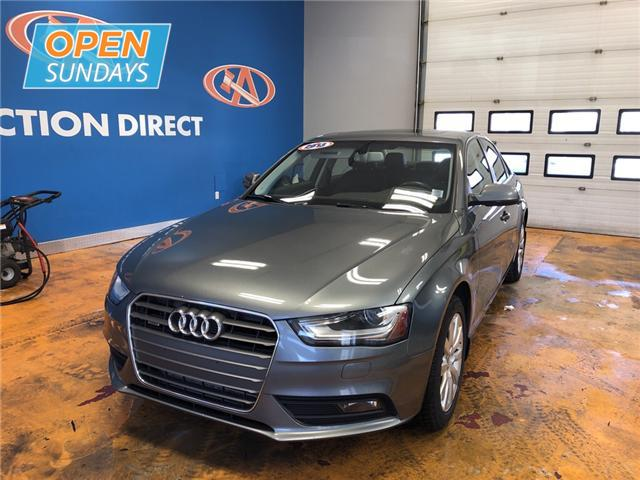 2013 Audi A4 2.0T Premium (Stk: 13-6826A) in Lower Sackville - Image 1 of 18