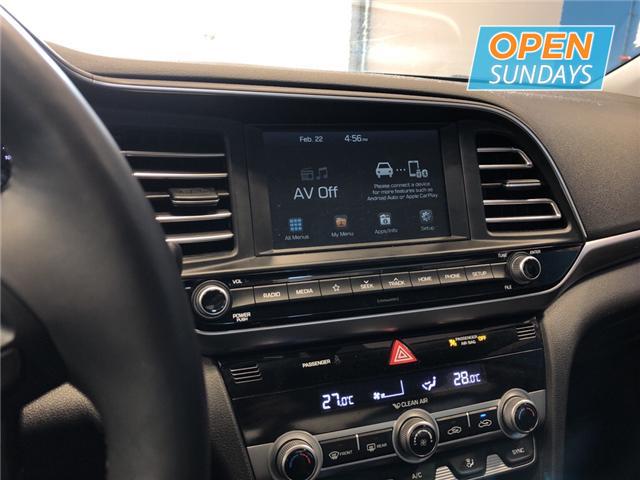 2019 Hyundai Elantra Luxury (Stk: 19-748749) in Lower Sackville - Image 14 of 16
