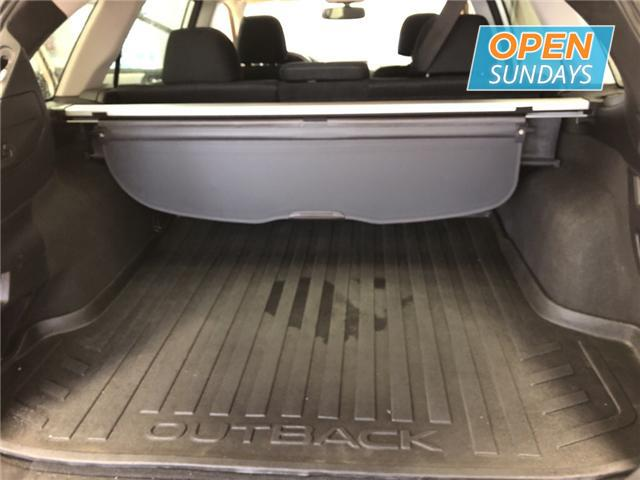 2016 Subaru Outback 3.6R Limited Package (Stk: 16-283293) in Lower Sackville - Image 11 of 16