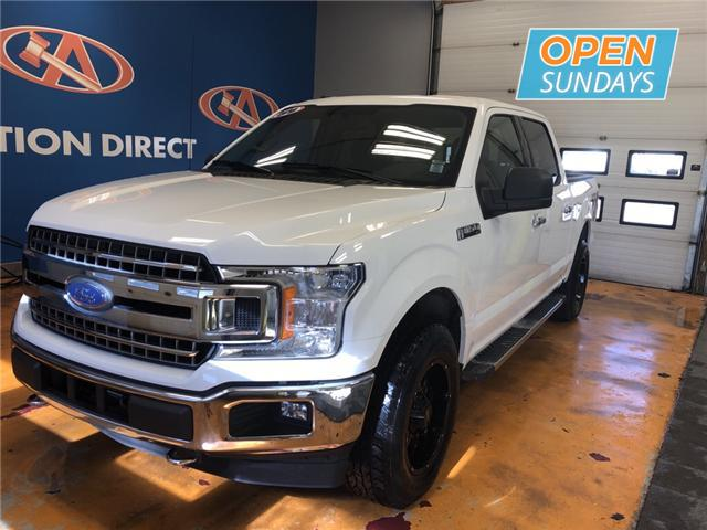 Auction Direct Sackville >> 2018 Ford F-150 XLT 4X4/ SUPER CREW/ TONNEAU COVER/ POWER ...