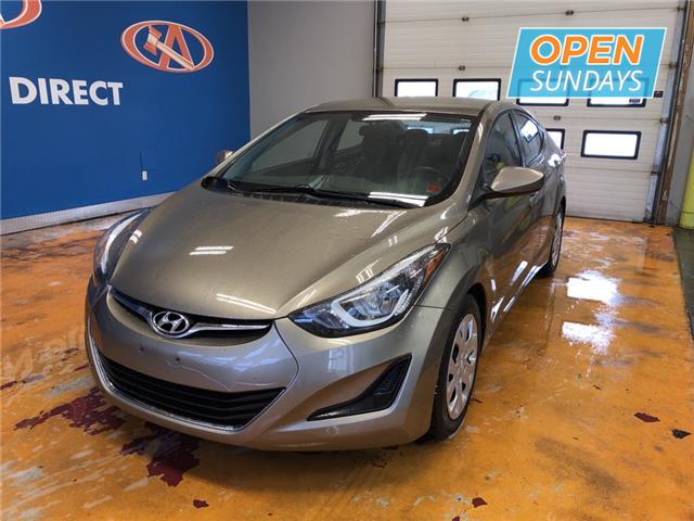 2014 Hyundai Elantra GL (Stk: 14-471151) in Lower Sackville - Image 1 of 13