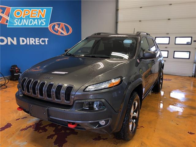 2018 Jeep Cherokee Trailhawk (Stk: 18-608068) in Lower Sackville - Image 1 of 16