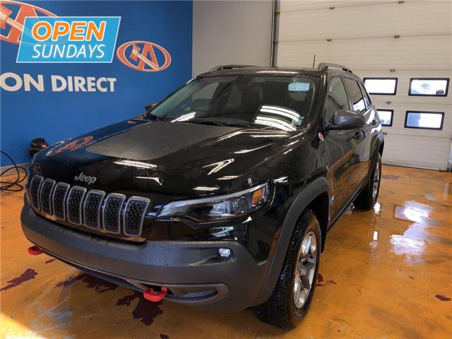 2019 Jeep Cherokee Trailhawk (Stk: 19-210275) in Lower Sackville - Image 1 of 16