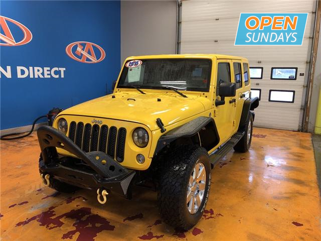 2015 Jeep Wrangler Unlimited Sahara (Stk: 15-637083) in Lower Sackville - Image 1 of 15