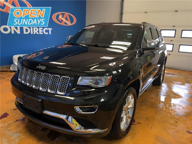 2014 Jeep Grand Cherokee Summit (Stk: 14-255518) in Lower Sackville - Image 1 of 16