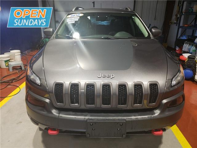 2018 Jeep Cherokee Trailhawk (Stk: 18-608068) in Moncton - Image 2 of 23