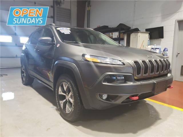 2018 Jeep Cherokee Trailhawk (Stk: 18-608068) in Moncton - Image 3 of 23