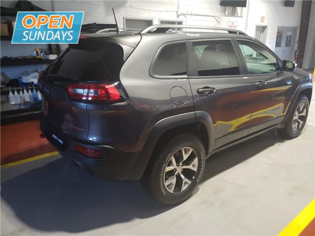 2018 Jeep Cherokee Trailhawk (Stk: 18-608068) in Moncton - Image 4 of 23