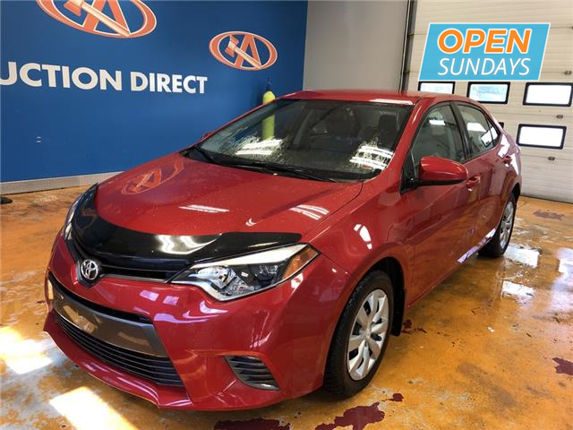 2016 Toyota Corolla CE (Stk: 16-656636) in Lower Sackville - Image 1 of 15