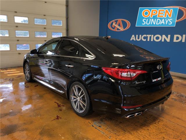 Auction Direct Sackville >> 2015 Hyundai Sonata 2.0T Ultimate PANO ROOF/ HEATED-VENTILATED LEATHER/ INFINITY AUDIO! at ...