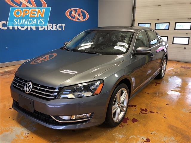 2014 Volkswagen Passat 2.0 TDI Highline (Stk: 14-112197) in Lower Sackville - Image 1 of 17