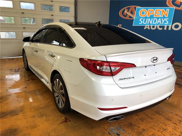 Auction Direct Sackville >> 2015 Hyundai Sonata Sport Tech TECH PACK/ NAVI/ PANO ROOF/ HEATED LEATHER/ REVERSE CAM! at ...