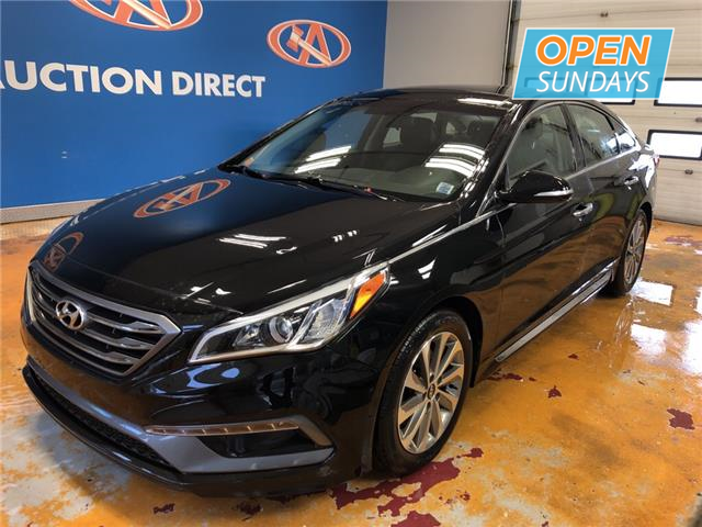 2016 Hyundai Sonata Sport Tech (Stk: 16-278548) in Lower Sackville - Image 1 of 17