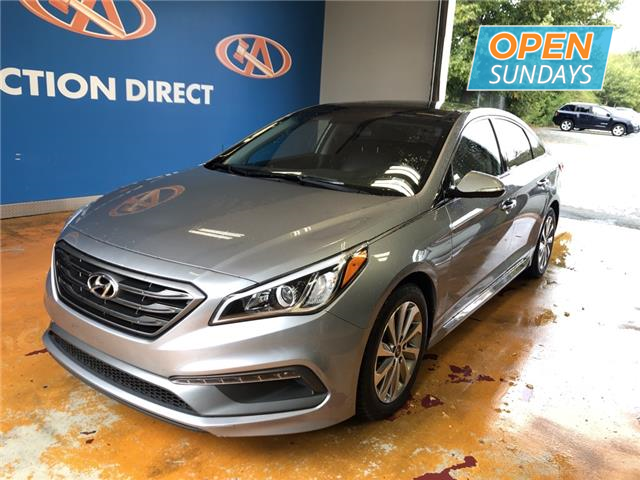 2016 Hyundai Sonata Sport Tech (Stk: 16-412196) in Lower Sackville - Image 1 of 14