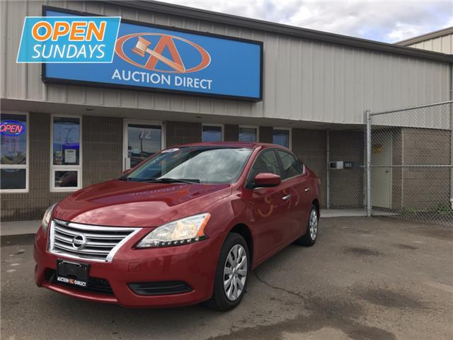2014 Nissan Sentra 1.8 S (Stk: M650322) in Moncton - Image 1 of 15