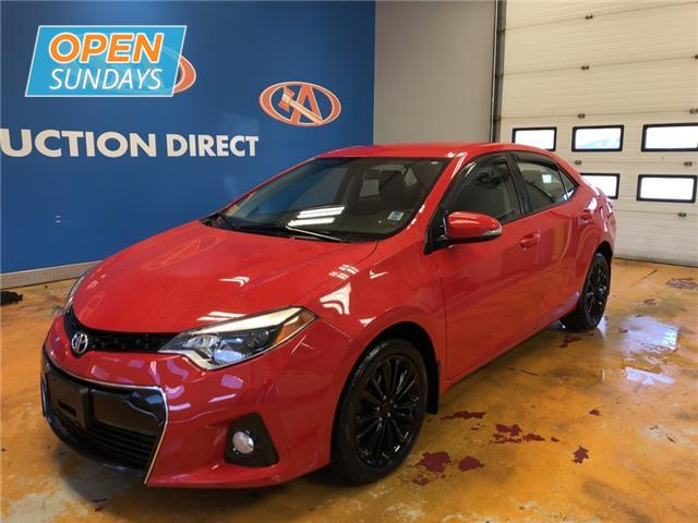 2015 Toyota Corolla S (Stk: 15-241084) in Lower Sackville - Image 1 of 15