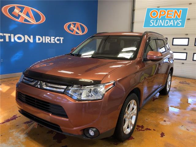 2014 Mitsubishi Outlander GT (Stk: 14-604519) in Lower Sackville - Image 1 of 17
