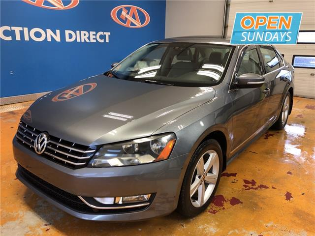 2013 Volkswagen Passat 2.0 TDI Comfortline (Stk: 13-028074) in Lower Sackville - Image 1 of 16