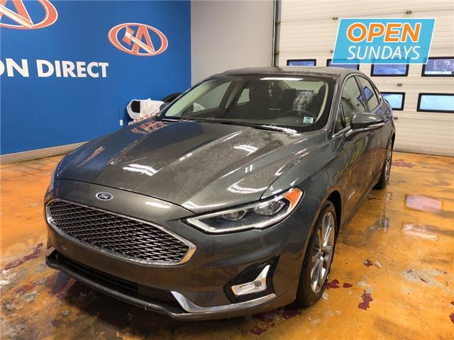 2019 Ford Fusion Hybrid Titanium (Stk: 19-191322) in Lower Sackville - Image 1 of 17