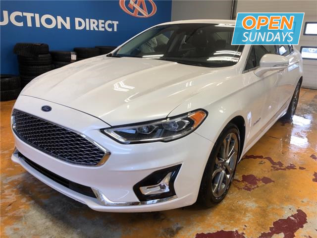 2019 Ford Fusion Hybrid Titanium (Stk: 19-236360) in Lower Sackville - Image 1 of 19